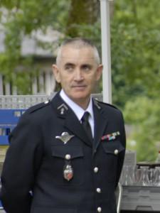 Le chef d'escadron Alain Brossard